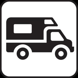 Wohnwagen Symbol